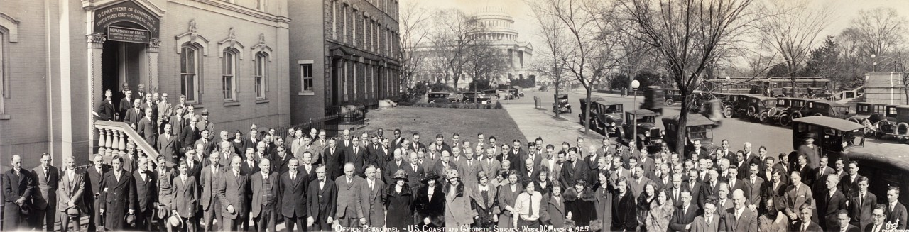 Office-personnel-US-Coast-and-Geodetic-Survey-Wash-DC-March-6-1925