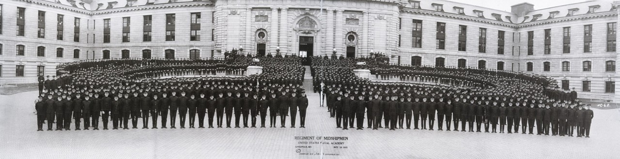 Regiment-of-Midshipmen-United-States-Naval-Academy-Annapolis-Md-Nov-18-1922-1922