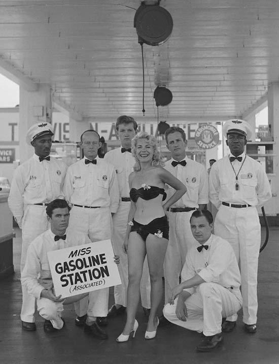 Miss Station Service 1950
