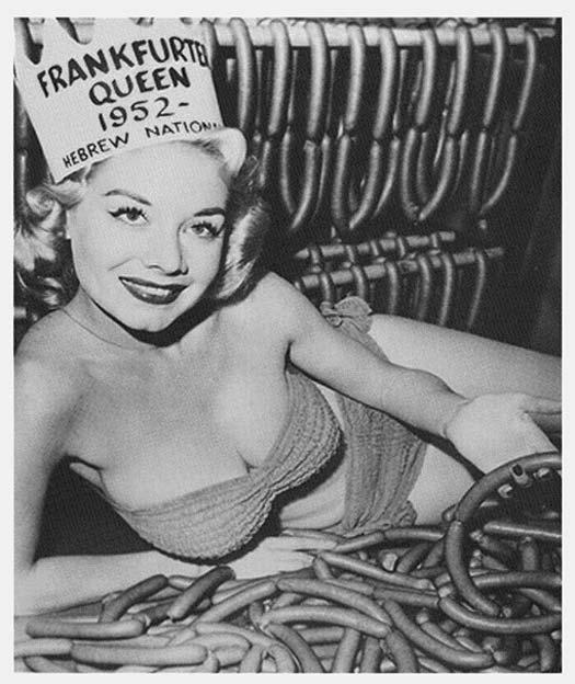 La reine de la saucisse de Francfort
