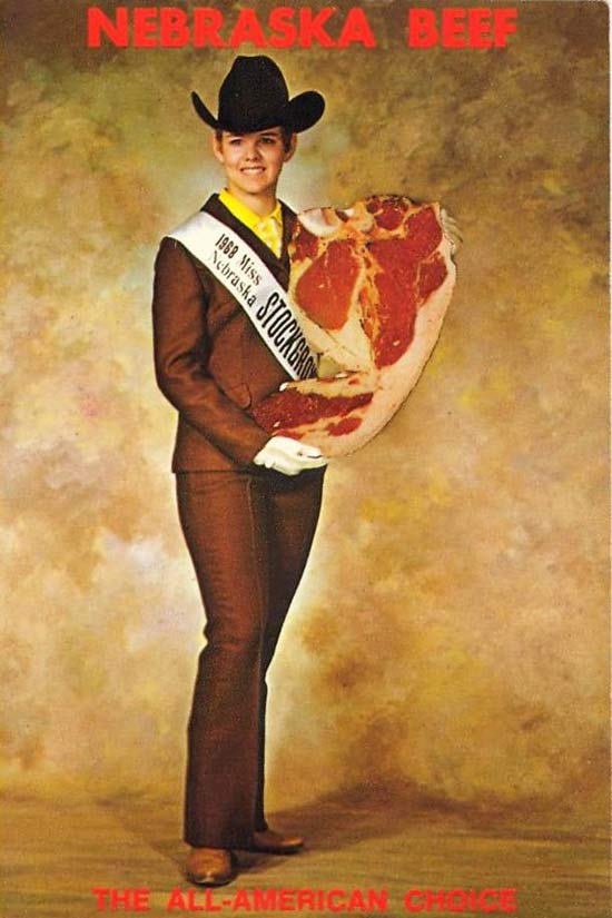 Miss Boeuf du Nebraska 1968