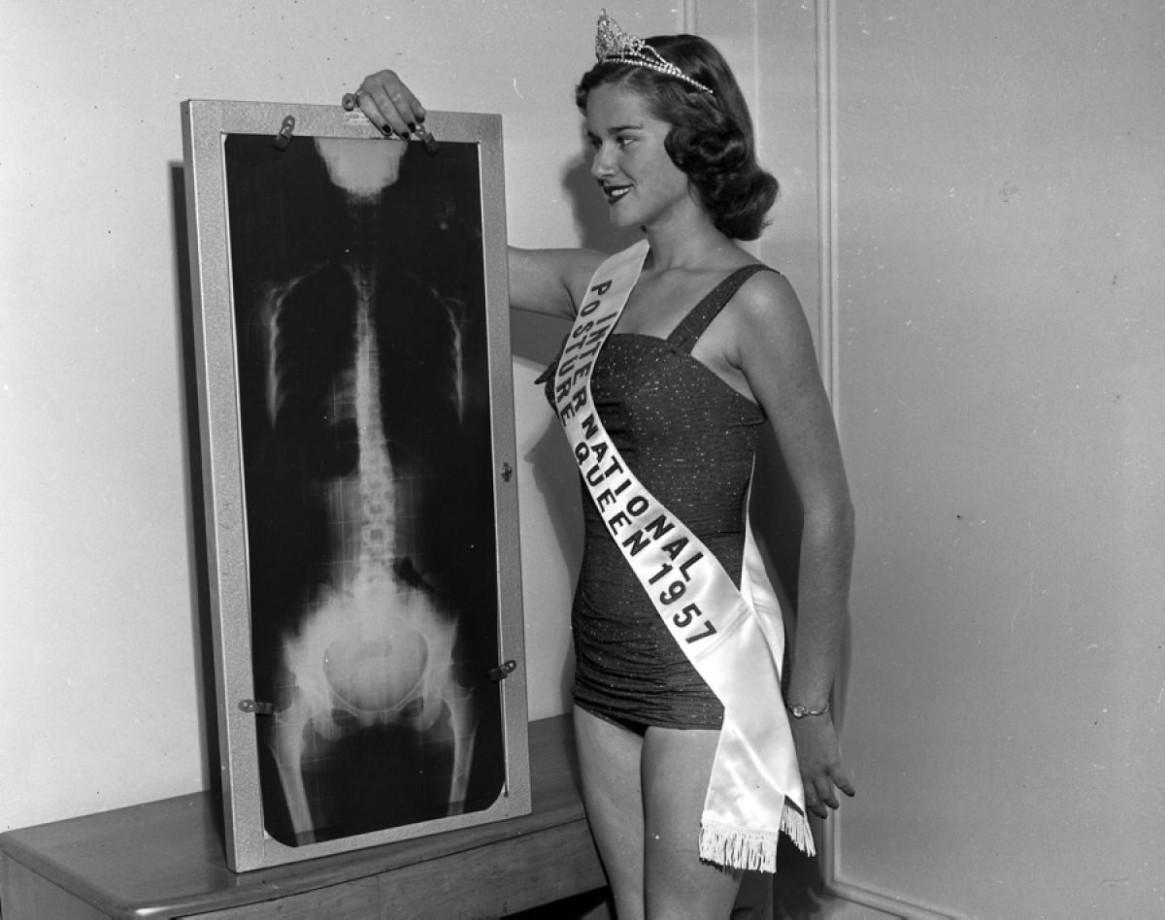 Reine mondiale de la posture 1957