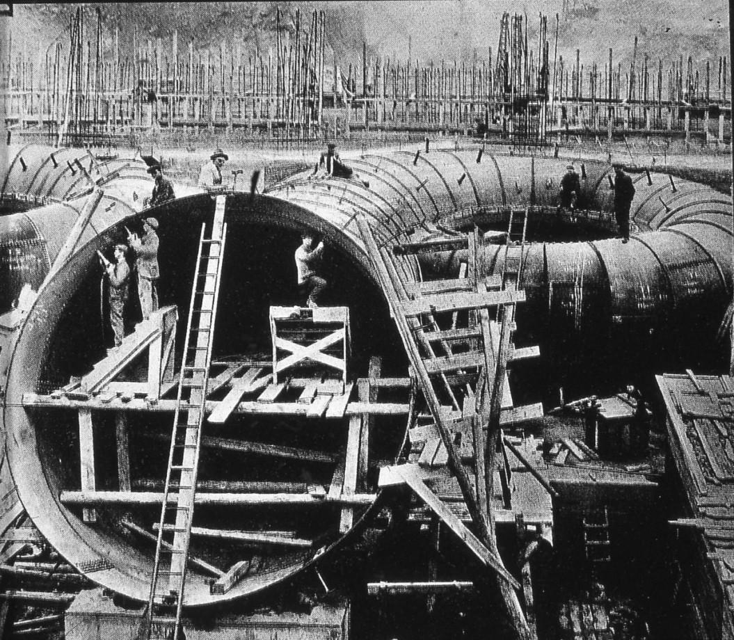 Installation des turbines