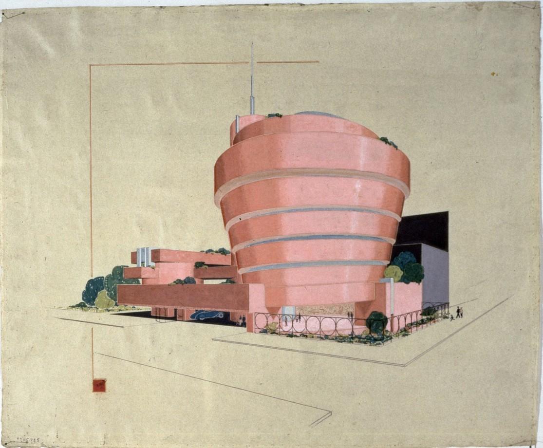 Guggenheim-Frank-Lloyd-Wright-museum-rose