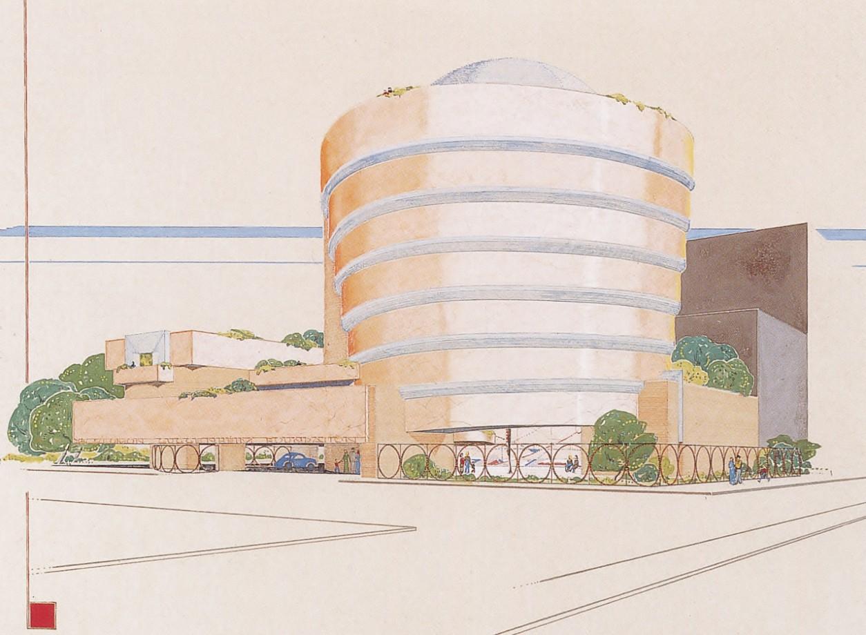franl-lloyd-museum-Guggenheim-dessin-02