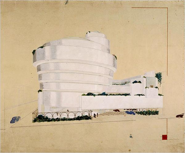 franl-lloyd-museum-Guggenheim-dessin-04