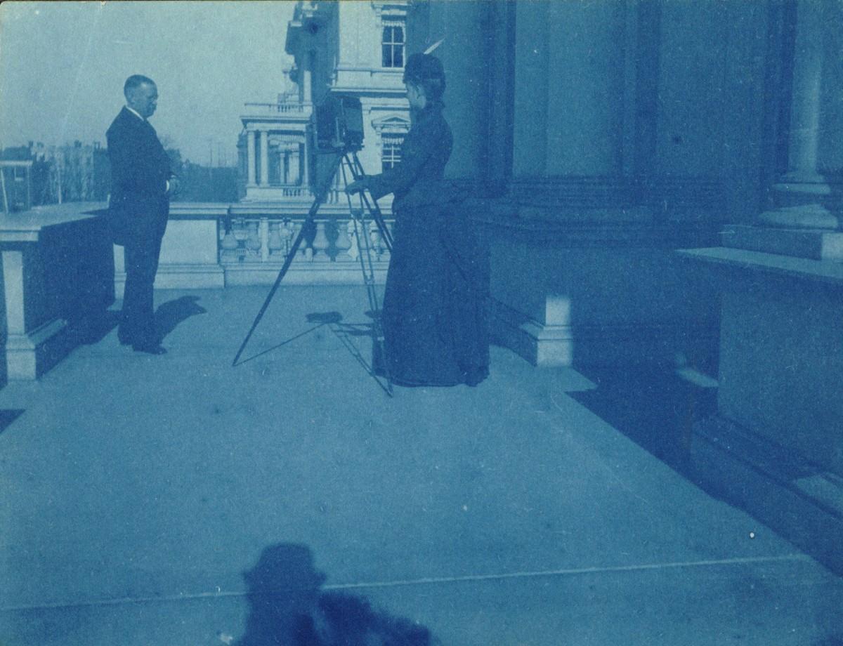 Frances Benjamin Johnston photographie un homme non identifié - 1888