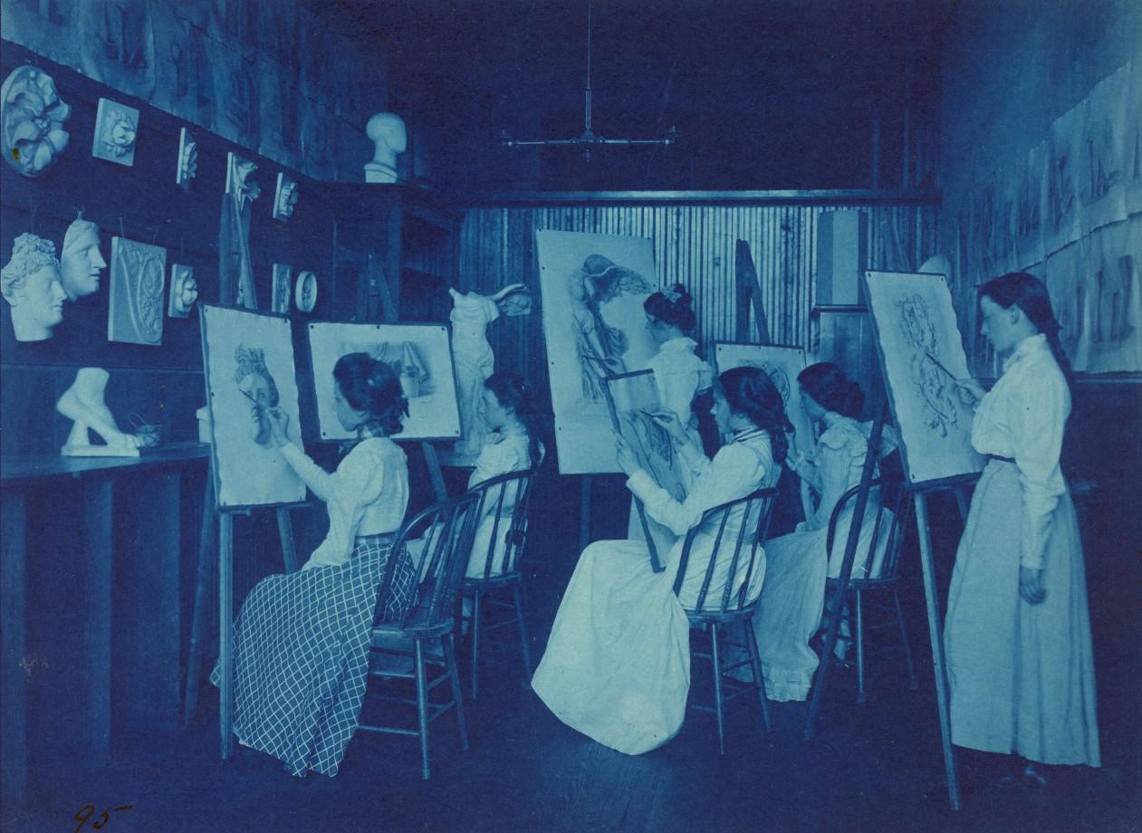 Une classe d'Art à Washington
