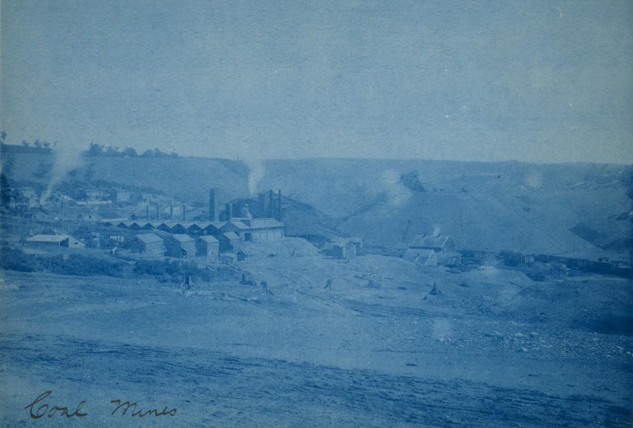 Mine de charbon - 1891