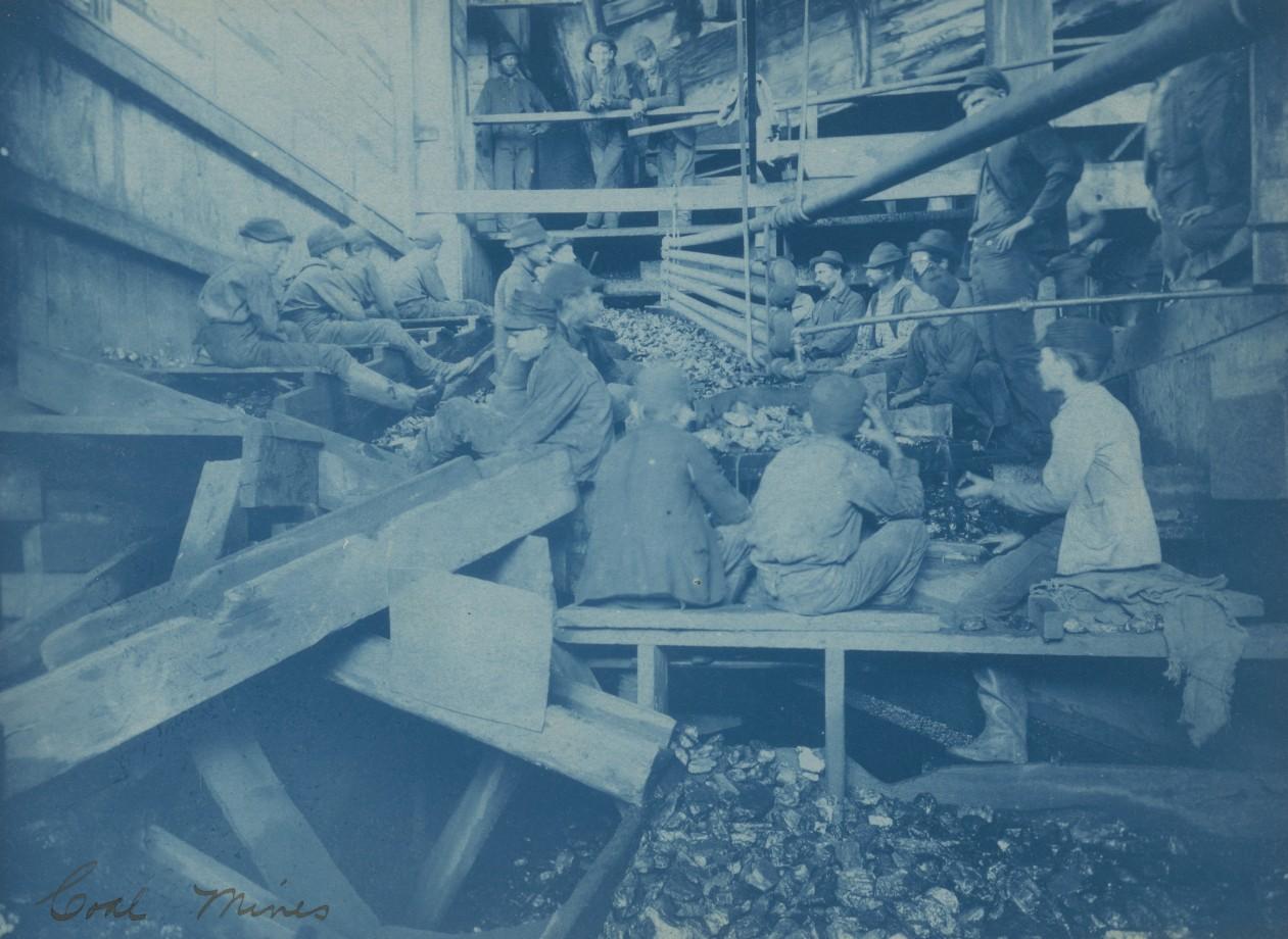 Kohinor mine, Shenandoah City - 1891
