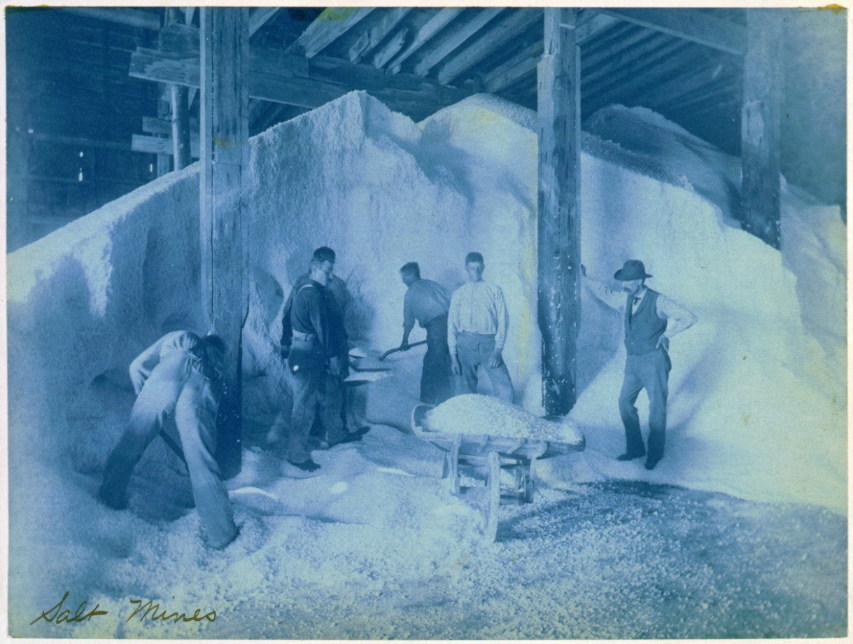 Une mine de sel - 1893