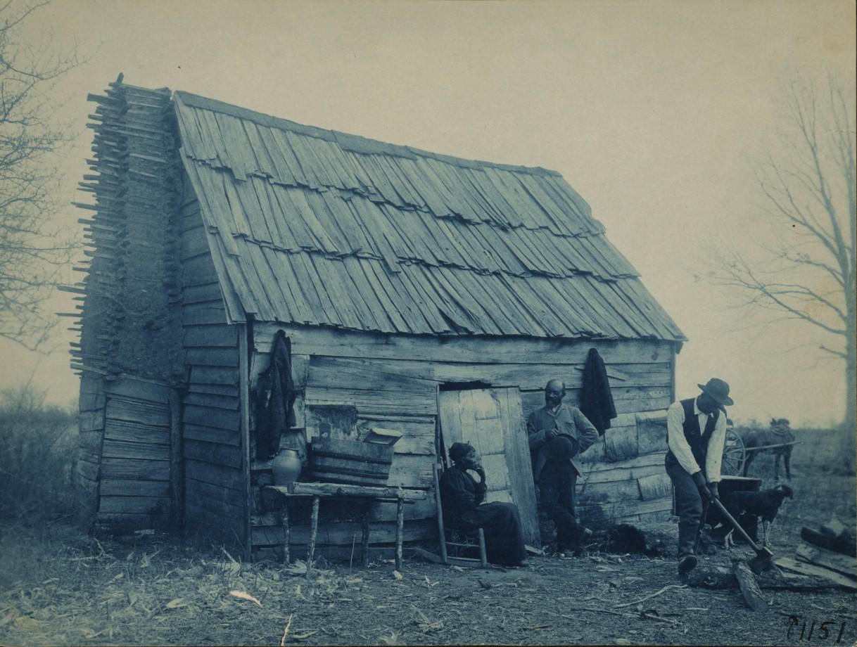 Une cabane - 1893