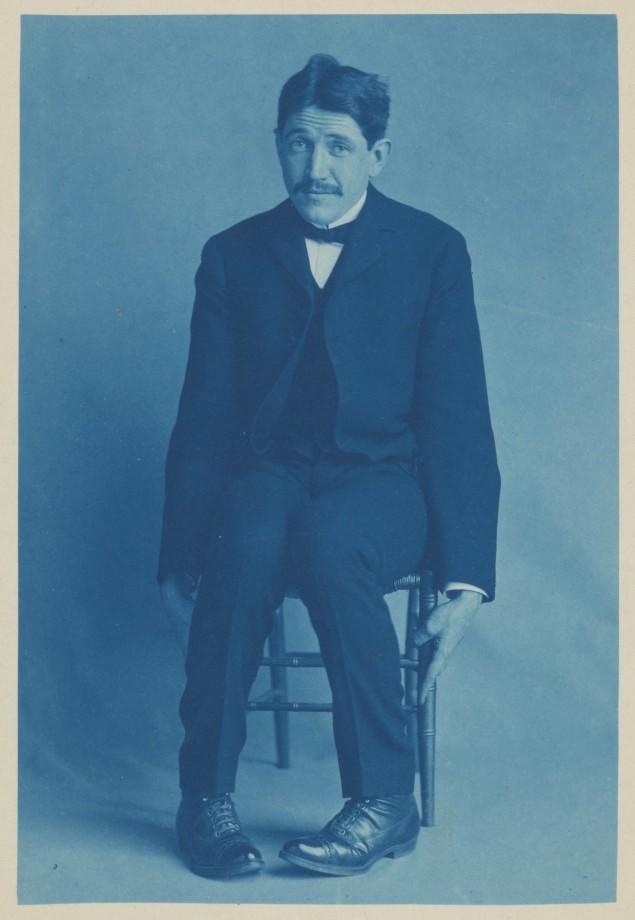 Portrait d'un ami de Frances Benjamin Johnston