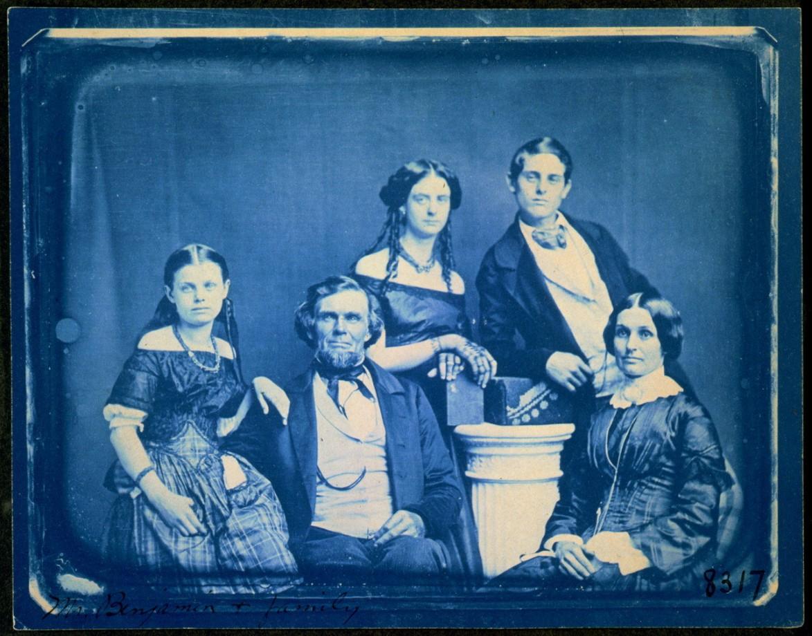 La famille de Mr Zina Hitchock Benjamin