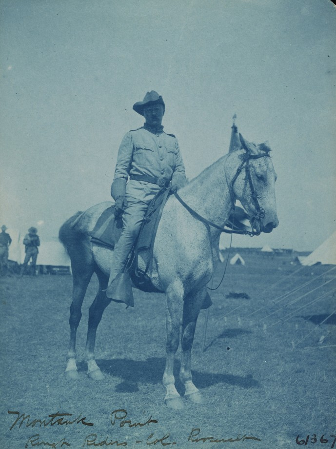 Le Colonel Roosevelt à Montauk Point - 1898