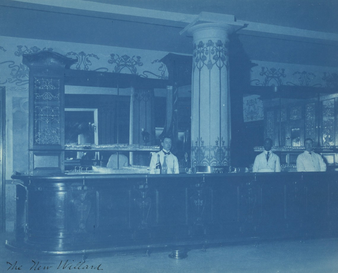 Bar de l'hôtel Willard