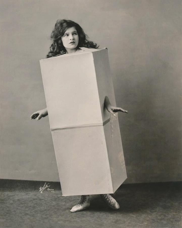 Miriam Miller The Blue Law Girl showHippodrome 1921