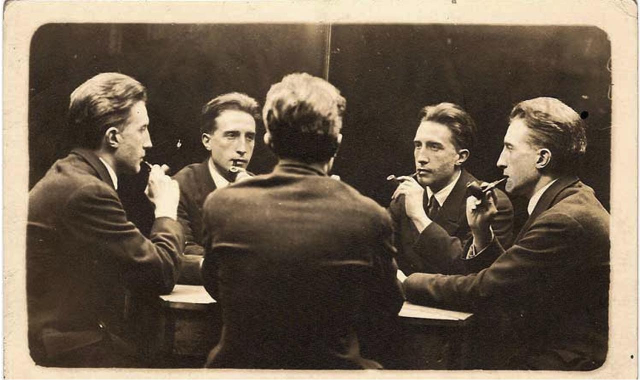 Marcel Duchamp - Autour d'une table - 1917
