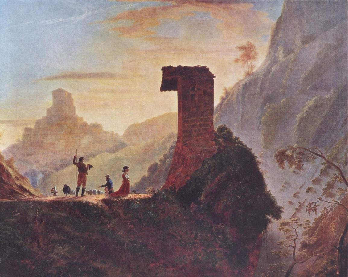 The Chapel of the Virgin at Subiaco - 1830