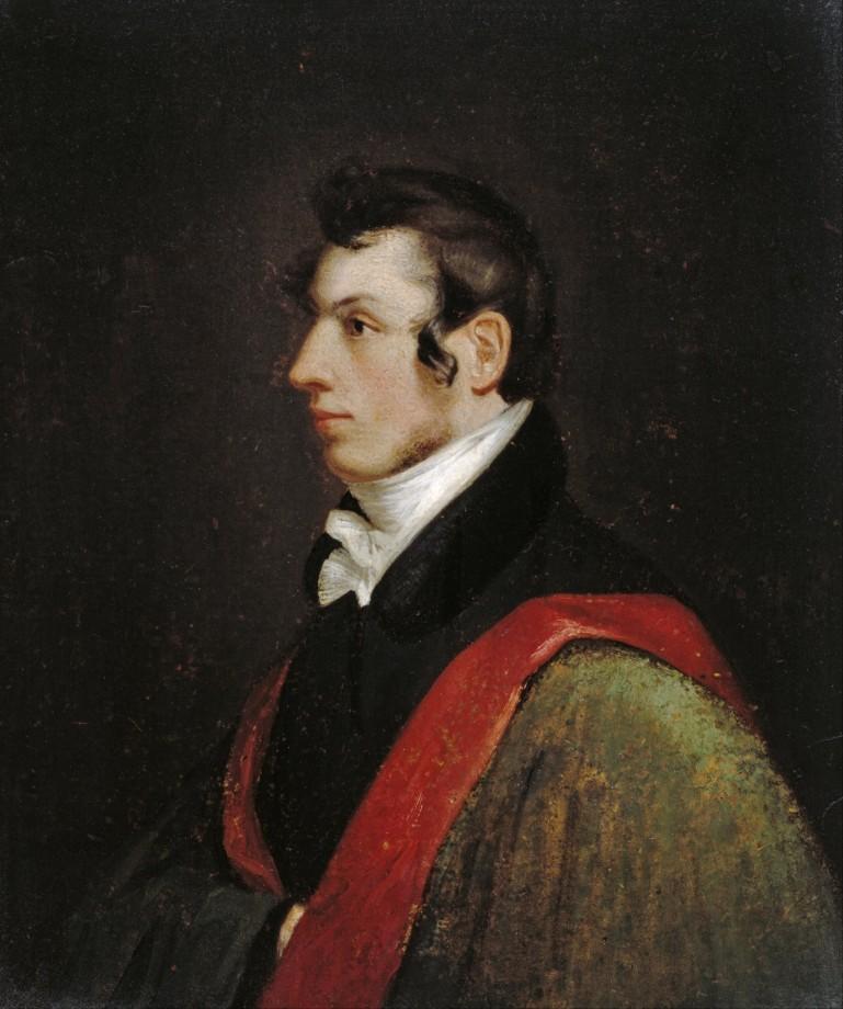 Autoportrait de Samuel Morse - 1812