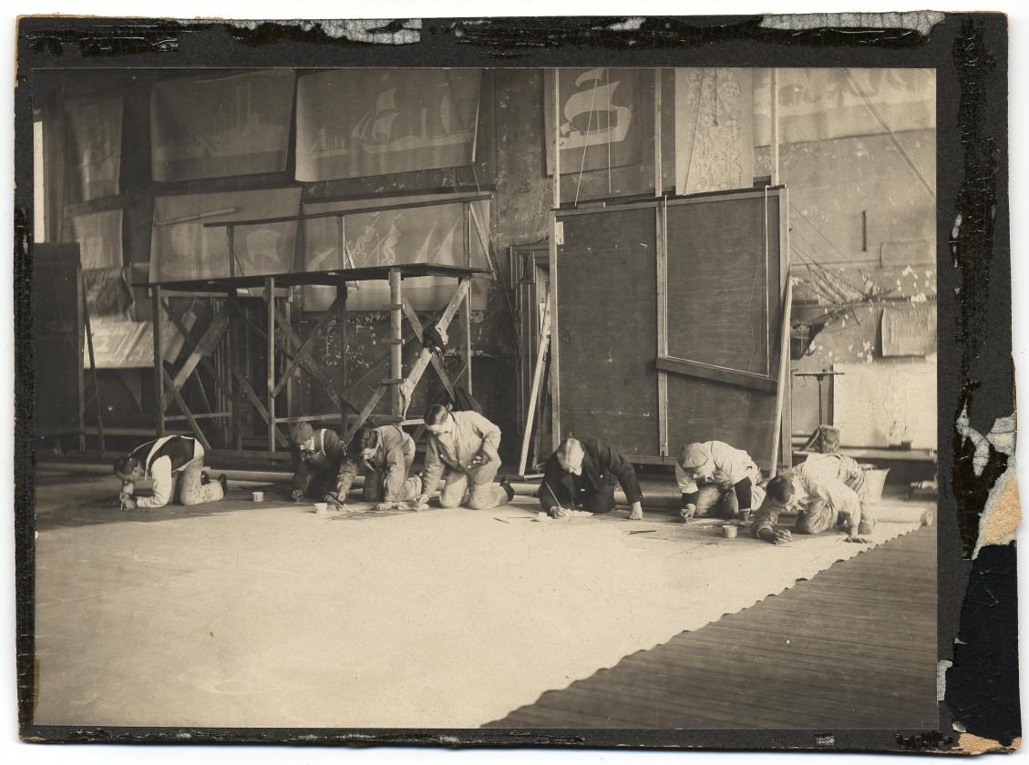 Francis-Davis-Millet-peinture-studio-bateau-02