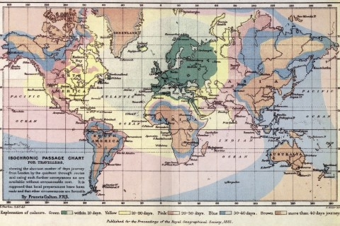 galton-carte-distance-voyage-temps