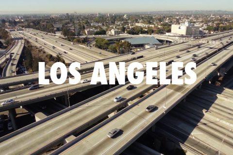 C'est beau Los Angeles d'en haut
