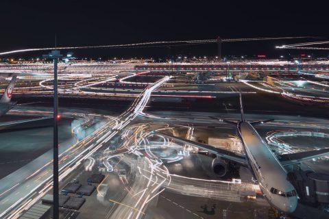 C'est joli l'aéroport d'Haneda à Tokyo