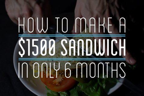 Comment faire un sandwich à partir de rien