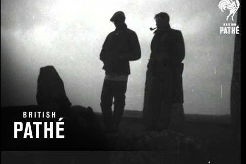 Des druides à Stonehenge en 1948