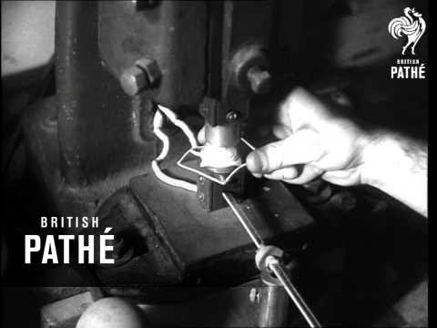 Des lentilles de contact en 1948