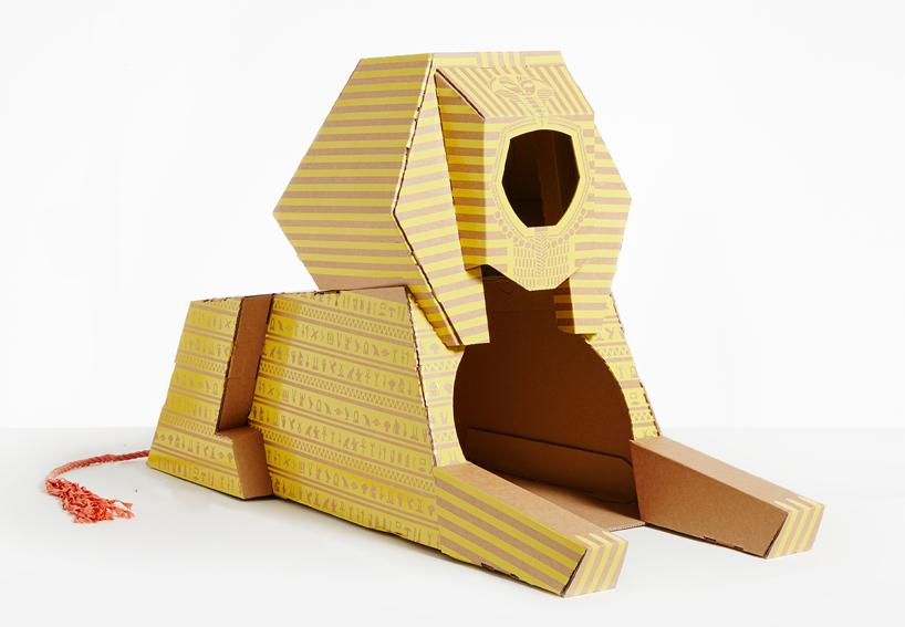 flatpack-cardboard-cat-houses-architectural-landmarks-designboom-05