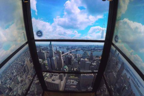 Le timelapse historique de l'ascenseur du World Trade Center