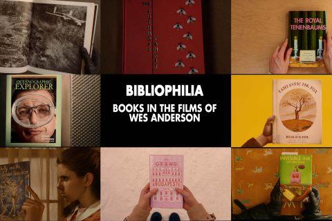 Les livres de Wes Anderson