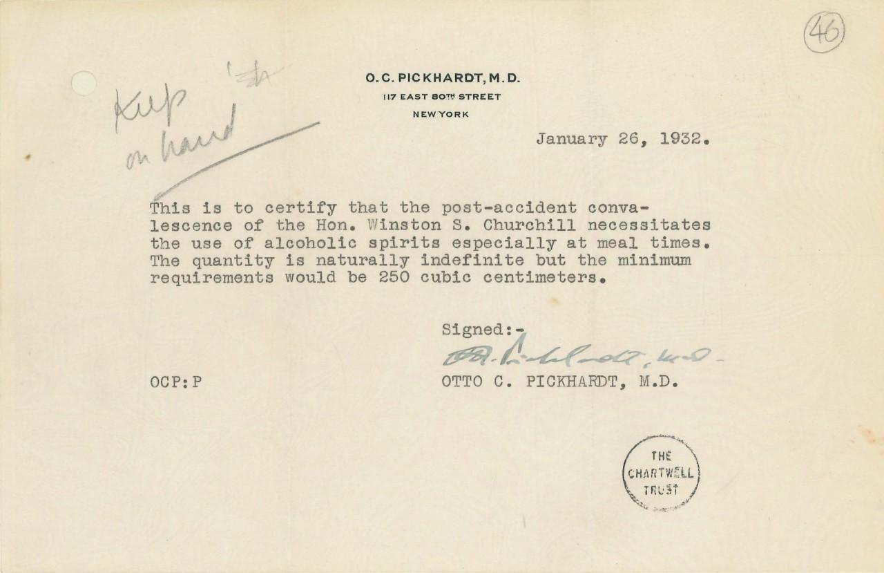 ordonnance-medecin-alcool-prohibition-winston-churchill