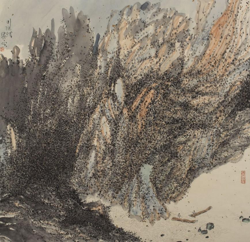 peinture-chine-paysage-Zhu-Daoping-03