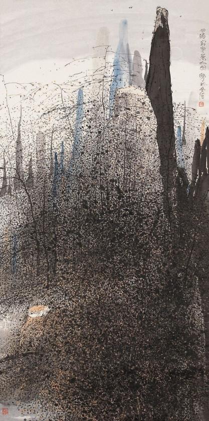 peinture-chine-paysage-Zhu-Daoping-05