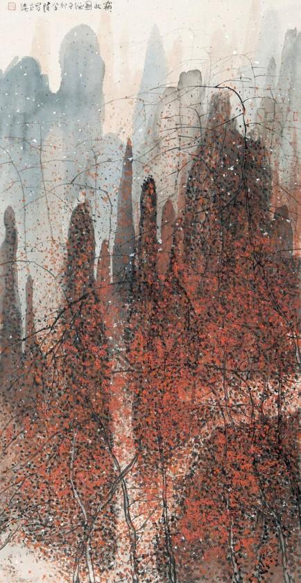 peinture-chine-paysage-Zhu-Daoping-10