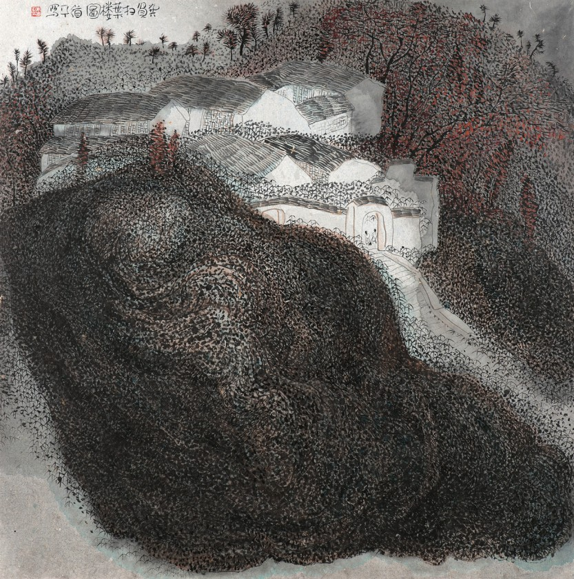 peinture-chine-paysage-Zhu-Daoping-11
