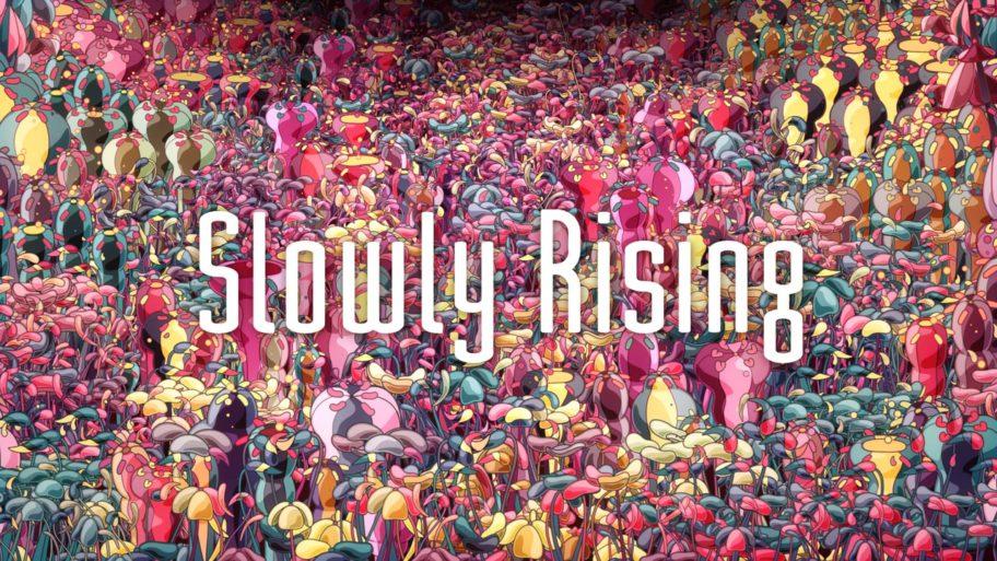 Slowly Rising : un clip animé contemplatif et hypnotisant