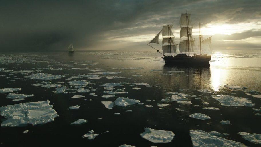 Une reconstitution d'une expédition arctique de 1845