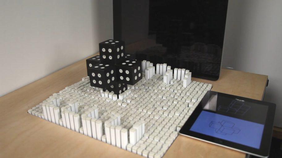 Une table qui manipule des objets