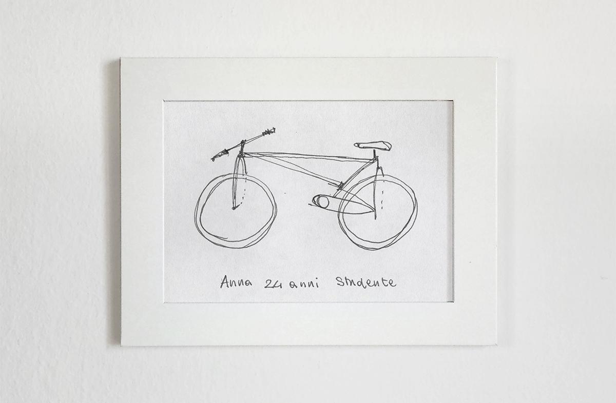 Ses amis sont nuls en dessins de vélos et il le montre en 3D