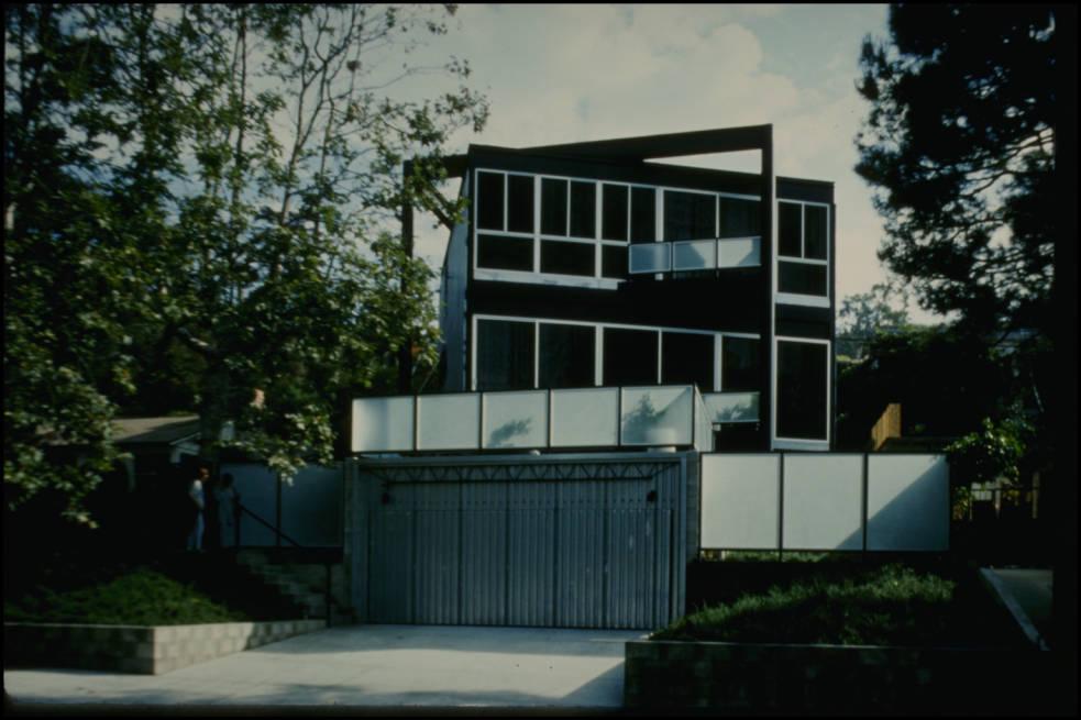 Des snapshots de l 39 architecture moderne en californie - Residence santa monica canyon en californie ...