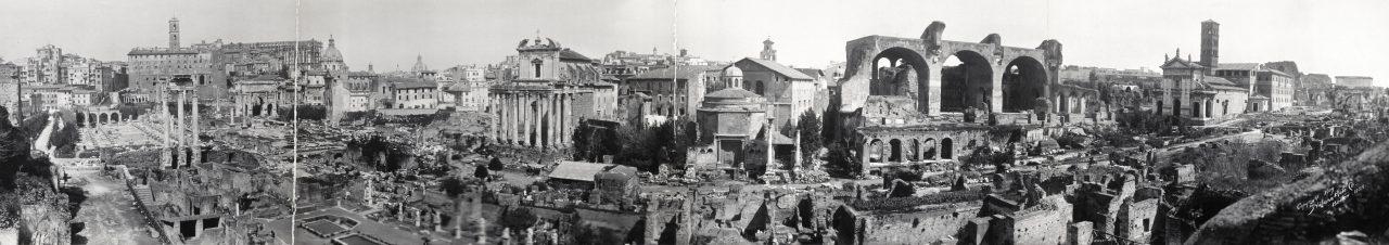 Forum, Rome - 1909