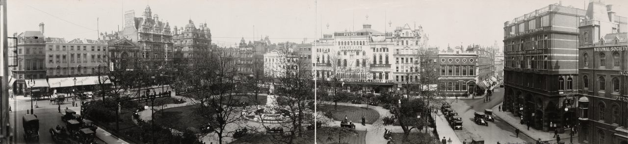 Leicester Square, Londres - 1909