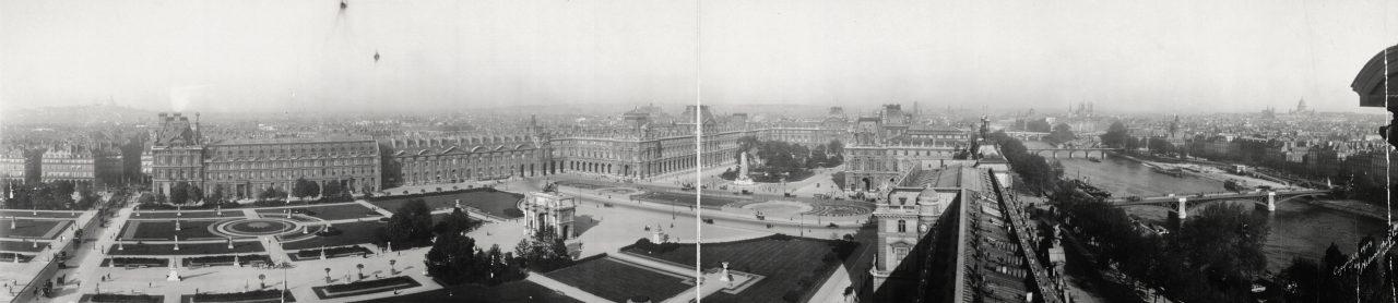 Le Louvre, Paris - 1909