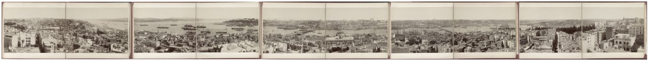 Constantinople vue depuis la Tour de Galata, Turquie