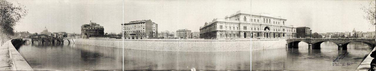 Chateau Saint-Ange, Rome - 1909
