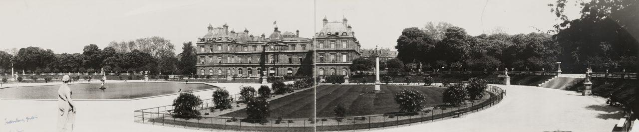 Jardin du Luxembourg, Paris - 1909